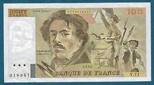 FRANCE - 100 FRANCS DE LA CROIX Fay n° 69. 8a de 1984. en SUP   Y.71 018387