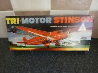 VINTAGE KLEEWARE TRI-MOTOR STINSON No.3175 SCALE MODEL EMPTY BOX