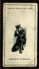 Tobacco Card, Imperial Canada, INFANTRY TRAINING, 1915, Musketry Exercises, #36