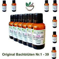 Bachblüten Globuli Nr.1 - 39 Homöopathie Taschenapotheke Heilmittel je 25g Fla.