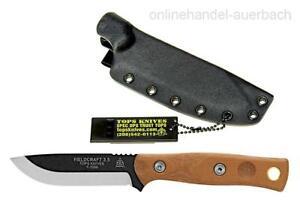 TOPS KNIVES Fieldcraft 3.5  Mini Bros Messer  Outdoor  Survival