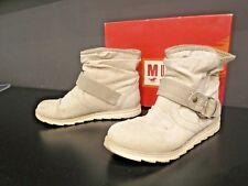 bottines bottes MUSTANG beige ice 37