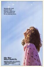 THE BOY WHO COULD FLY Movie POSTER 27x40 Lucy Deakins Jay Underwood Bonnie