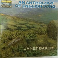 LN= Baker Janet An Anthology of English Song CD