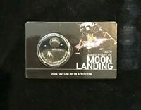 2009 UNC RAM 50 Cent Coin  - 40th Anniversary of the Moon Landing