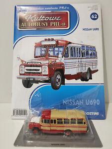 IXO IST NISSAN U690 Kultowe Autobusy PRL-u 1:72 no.62 polish bus