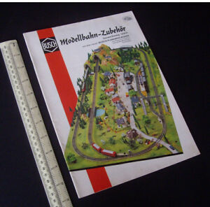 1970 BUSCH Germany Catalogue H0 Gauge Buildings, Layouts & Accessories