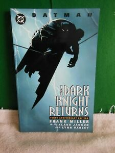 Batman The Dark Knight Returns-DC-Frank Miller-10th Anniversary Edition-Nice