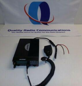Harris M7300 M5300 800 MHz Two Way Radio MAMW-SDMXX w Mic & Power Cord