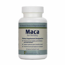 Fairhaven Health Organic Maca Fertility Increase Libido Sperm Count Motility