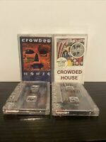 Bundle Of 2 Crowded House Cassette Tapes Woodface