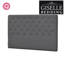 NEW Queen Size Bed Head Headboard Bedhead Upholstered Fabric for Base/Frame Grey