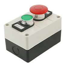 Red Mushroom Head Momentary Switch Push Button Station DT
