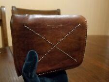 Hard Graft MMVIII Men Brown Bi Fold Leather Wallet