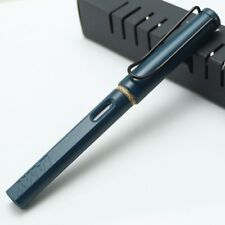 Lamy Safari Fountain Extra Fine Nib Pen Petrol Blue Limited Edition