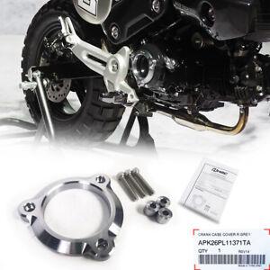H2C CRANK CASE COVER ENGINE ALUMINUIM GUARD  FOR HONDA GROM 125 2020-2021
