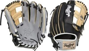 "Rawlings HOH Gold Glove 11 3/4"" Gray/Black PRO2175-13GBC"