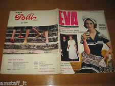 EVA=1959/26=RIVISTA MAGAZINE MODA DONNA WOMAN CUCINA ARREDAMENTO=