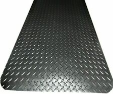 "3' x 15' x 1/2"" Weldmaster Diamond Plate anti-fatigue matting Welding & other in"