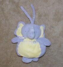 Kids Ii Musical Elephant Peanut Purple Yellow Crib Toy Pull handle