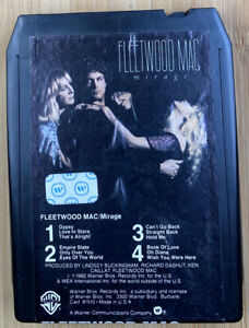 FLEETWOOD MAC Mirage 8-Track Tape 1982 Warner REFURBISHED Lindsey Buckingham