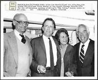 ~ Arthur Miller at Broadway Opening of The Price Original 1979 Stamped Photo