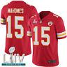 Men's Kansas City Chiefs Patrick Mahomes Nike Red Super Bowl LIV Game Jersey