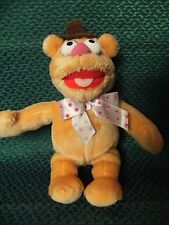 """DISNEY POSH PAWS FOZZY BEAR SOFT TOY MUPPET SHOW 10"""" APPROX PRELOVED"""