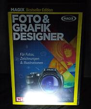 MAGIX FOTO & GRAFIK DESIGNER Bestseller Edition PC DVD Deutsch + Produktkey OVP