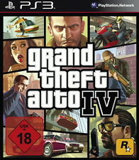PS3 / Sony Playstation 3 Spiel-GTA/Grand Theft Auto IV (4) (OVP) (USK18)