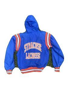 Vintage Syracuse Lacrosse Windbreaker