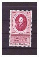 S33791 Italy MNH 1958 Torricelli 1v