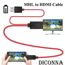MHL Micro USB to HDMI 1080P HD TV Cable Adapter for Android Samsung Phones 11PIN