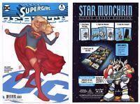 Supergirl Rebirth #1 (NM+ 9.6) Adam Hughes Cover Art Orlando 2016 DC Comics