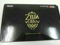 The Legend Of Zelda 25th Anniversary Limited Edition Nintendo 3DS Console