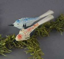 Alter Christbaumschmuck - Paar  bunte Vögel   (# 9274)