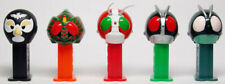 MASKED RIDER 1 MINI PEZ SET OF 5 FROM JAPAN - 2ND OF 49 - 4/2004- MIB W/INSERTS