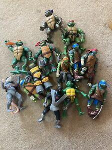 Teenage Mutant Ninja Turtles TMNT Action Figure Bundle