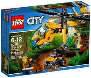 LEGO 60158- L'HELICOPTERE CARGO DE LA JUNGLE - 2017