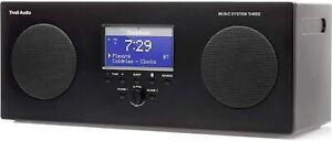 Tivoli Audio MYS3 AM/FM Radio Portable Alarm Clock Mains and Battery Remote