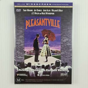 Pleasantville DVD -Tobey Maguire - Reese Witherspoon - R4 PAL - TRACKED POSTAGE