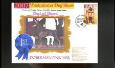 WM 2007 DOG SHOW BEST of BREED COVER, DOBERMAN PINSCHER