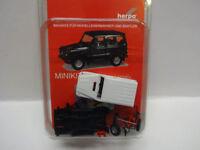 Herpa 012645-007 MiniKit MB Mercedes Benz G-Modell weiss Bausatz 1:87 Neu