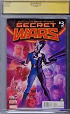SECRET WARS (2015) # 3 CGC 9.8 Virgin Cover 2nd Print SS Jonathan Hickman