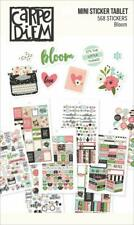 Carpe Diem Fun Design Bloom Mini Sticker Tablet 568 stickers Calander