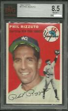 1954 TOPPS #17 PHIL RIZZUTO BVG 8.5 NM-MT+ NEW YORK YANKEES HOF HOLY COW