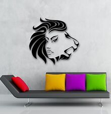 Wall Stickers Vinyl Decal Woman Leo Modern Decor for Room Home (ig713)