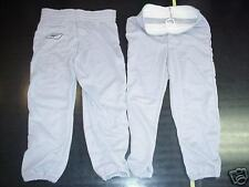 New! 2-pk Reebok Baseball Pants Gray Youth Boys Small
