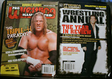2 PRO WRESTLING ILLUSTRATED, APRIL, SEPTEMBER 2006, TRIPLE-H, ANNUAL COLLECTOR'S