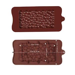 Silicone Bulle Cuisson Chocolat Moule Cuisine Barre Savon Cire Fondre Dalle